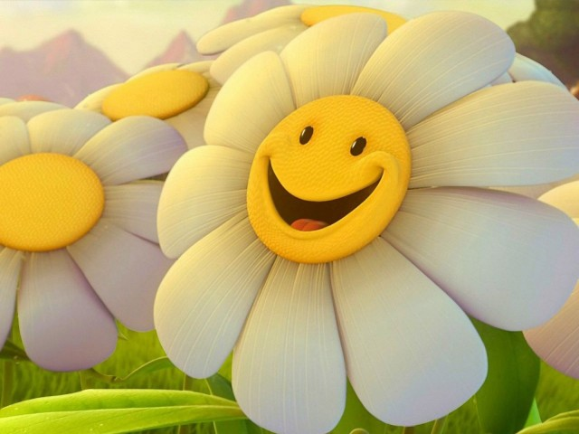 Smiley Flower Happy!